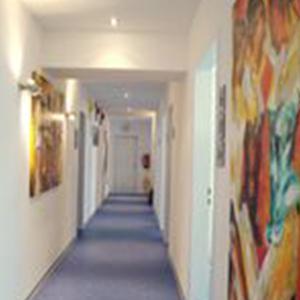 Hautcentrum Wiesbaden Hausflur